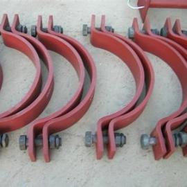 佰誉厂家批发U型螺栓,A2带角钢U型螺栓