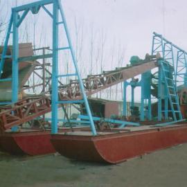 挖沙船、挖斗式挖沙船、链条式挖泥船、大型挖沙船、下挖40米挖沙