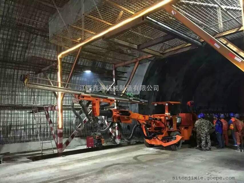 隧道用液压轮胎式掘进凿岩台车 掘进台车 钻车
