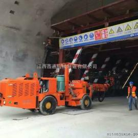 江西鑫通DW2-45轮胎式双臂钻车 全液压凿岩台车厂家直销