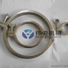 伟亚现货【316L卫生级精铸卡箍】欢迎咨询