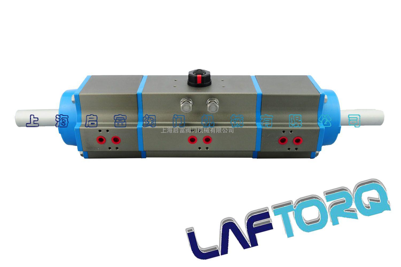 厂家直销三段式角行程da75气动执行器图片