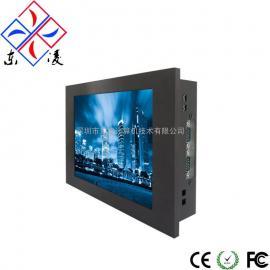8寸8.4寸上架式超薄高清工业电脑