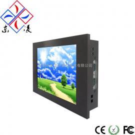 8寸8.4寸LINUX系统工业电脑支持RFID/GPS