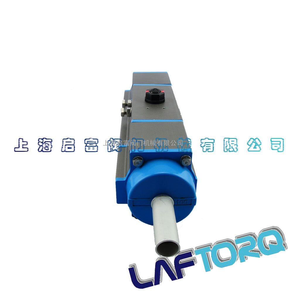 精小型角行程单作用三段式sr2580气动执行器图片