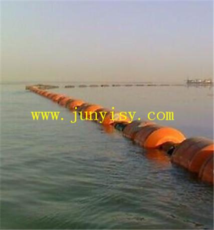 分布式夹管浮体 圆柱型管道浮体 长方形浮体
