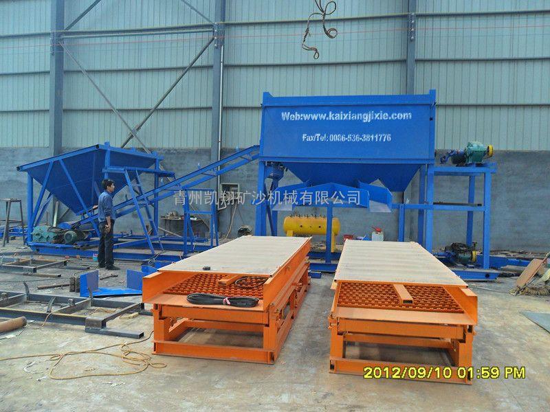淘金设备、旱地淘金设备、出口加纳淘金设备、鼓动溜槽