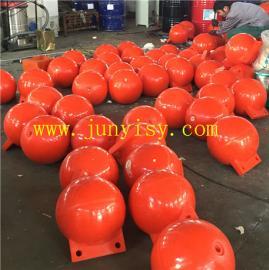 聚乙烯海上浮球 PE�F形浮球 大型浮球�S家��