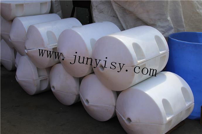 厂家热销 聚乙烯塑料管道浮体 水上网箱浮筒 pe耐腐蚀浮球