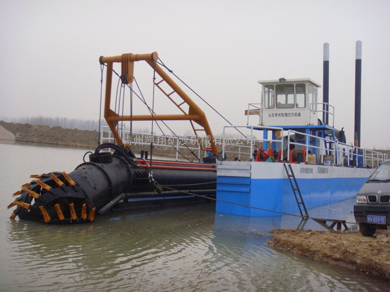 挖泥船、河道清淤、清淤船、液压挖泥船