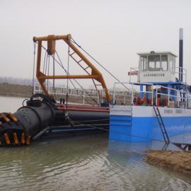 河道清淤、清淤船、液压挖泥船