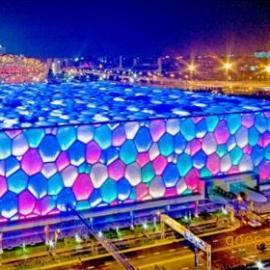 ETFE膜,透明膜,ETFE气枕,北京水立方膜
