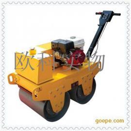 现货供应小型双轮压路机 手推式小型全液压驱动压路机