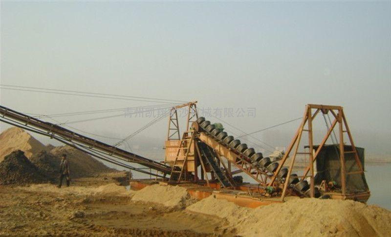 河道挖沙船设备