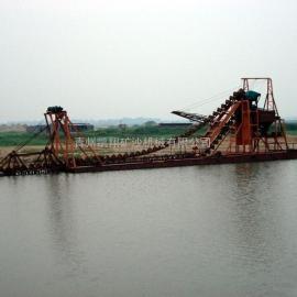 大型河道挖沙船