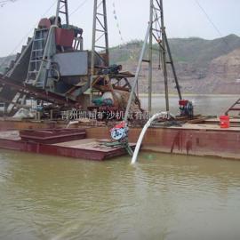 挖沙船、挖沙选铁船