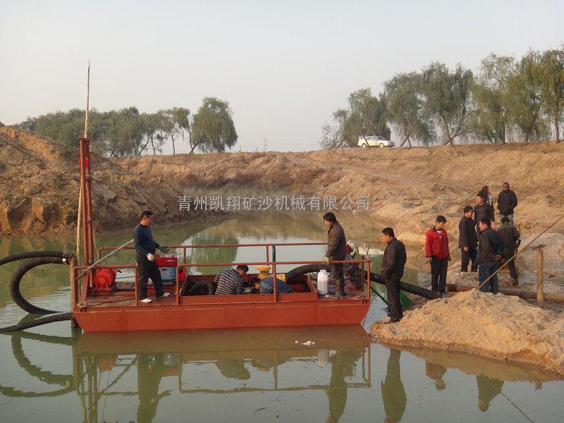 小型抽沙船、割边船