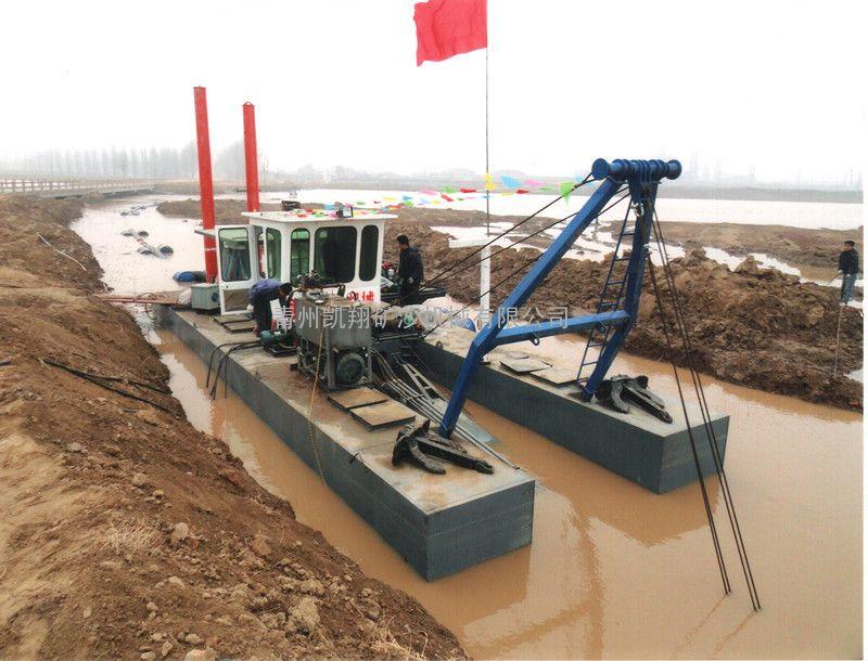 青州凯翔机械绞吸式抽沙船