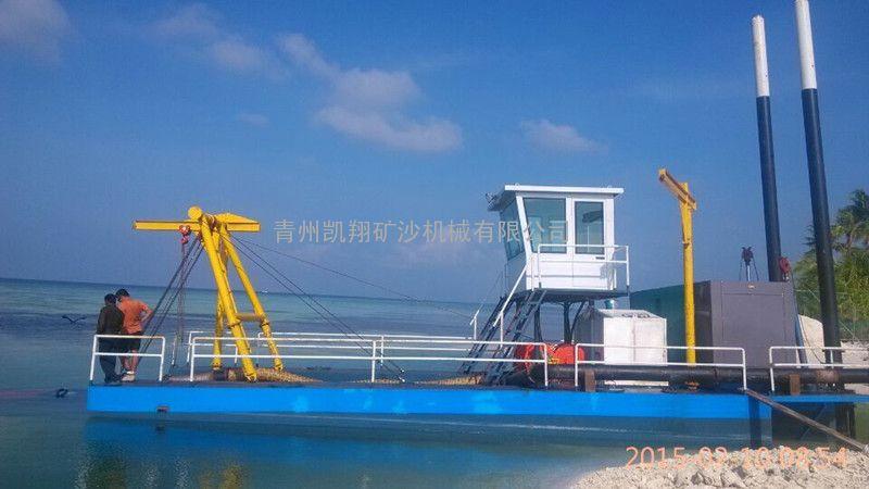 抽沙船、青州凯翔机械绞吸式抽沙船