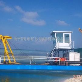 抽沙船、青州凯翔机械绞吸式抽沙船、抽沙船