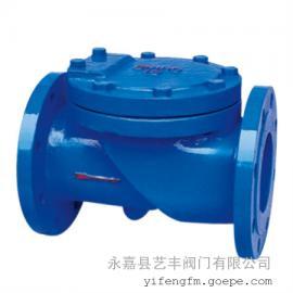 HC44X-10Q 橡胶瓣止回阀