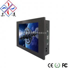 8寸8.4寸高性能电阻触摸屏工控一体机