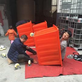 江山五金厂专用耐摔打周转箱布衣内胆牛筋桶