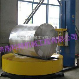 卧式圆筒纸缠绕膜包装机