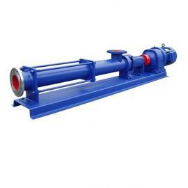 G型单螺杆泵厂家生产供应
