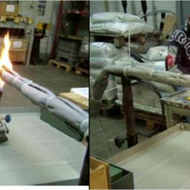 ��|光�|防火保�o毯防火罩防火毯