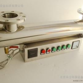 农村饮用水安全工程专用紫外线消毒器/紫外线杀菌仪/过流式紫外线