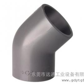 弯管 45°弯头 公制管件 PVC-U 瑞士+GF+ PN6-16