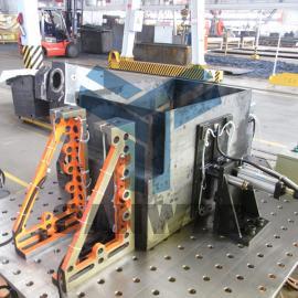 机箱机柜柔性焊接工装夹具,机箱机柜焊接工装夹具整体解决方案