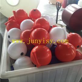水库划分区域塑料浮球 警戒海上浮球 游泳比较划分区域浮球