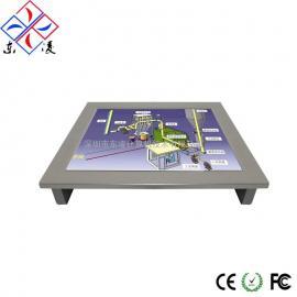 10寸10.4寸无风扇无线缆防震防油嵌入式计算机