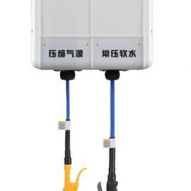 供应组合式洗车店用卷管器、4S店豪华2联-10联美容卷管器