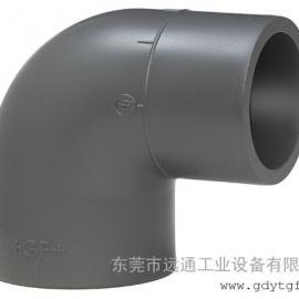 90°变径弯头 公制 PVC-U 瑞士+GF+ PN16