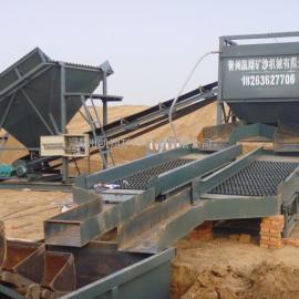 鼓动溜槽,淘金船,旱地淘金设备