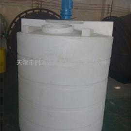 10吨塑料搅拌罐 10立方pe搅拌罐 10000L搅拌罐