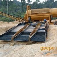 旱地淘金机械设备,旱地选金设备