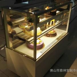 直角蛋糕柜 雅绅宝蛋糕柜 不锈钢蛋糕柜 蛋糕柜冷藏