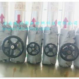 内江威耐斯V100柔性可拆卸式阀门管道保温衣
