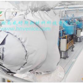 宁乡威耐斯V100柔性可拆卸式阀门管道保温罩