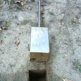 【深圳厂家恒进达】白口铁方型泥土原状采样器