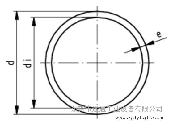 管材 塑料管件PVC-U透明 瑞士+GF+工业公制 PN16