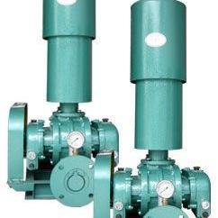厂家直销大小型高低压三叶罗茨鼓风机污水处理曝气面粉厂345.5 7.
