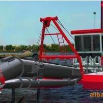 绞吸式清淤设备,绞吸式抽沙船,绞吸式挖泥船