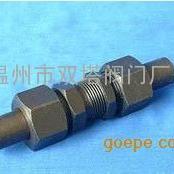 JB974-77 YZG5-4焊接式直通穿板管接头