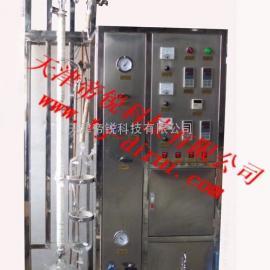 天津板加热式玻璃精馏装置 天津玻璃精馏厂家