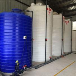 厂家直销10立方减水剂塑料储罐聚羧酸母液罐复配罐价格